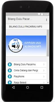 Lagu Bilang Dulu Pacarmu Al-Ghazali MP3 poster