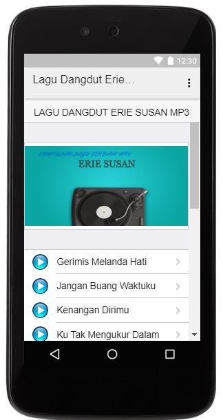 Lagu Dangdut Erie Susan MP3 for Android - APK Download