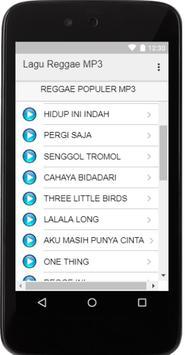 Lagu Reggae Populer MP3 screenshot 1