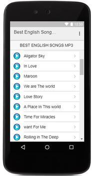 Best English Songs MP3 screenshot 1