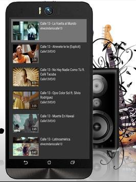 Calle 13 La Vuelta al Mundo apk screenshot