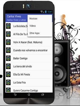 Carlos Vives La Bicicleta apk screenshot