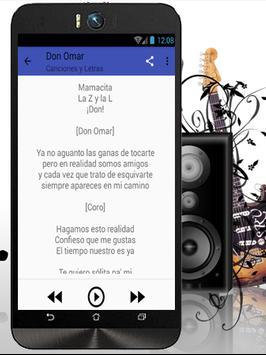 Don Omar Te Quiero Pa´Mi apk screenshot