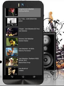 Joan Sebastian MeGustas Letras screenshot 3