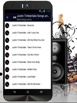 Best Songs Justin Timberlake screenshot 2