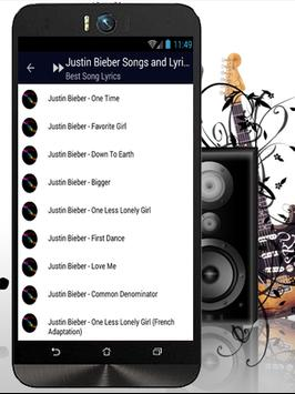 Justin Bieber - Sorry apk screenshot