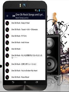 One Ok Rock - Ambitions Music apk screenshot