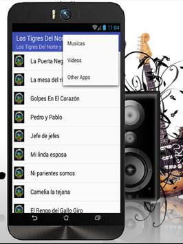Los Tigres Del Norte Top Music apk screenshot