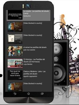 LasPastillas DelAbuelo Musicas apk screenshot