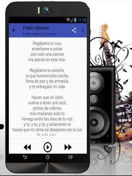 Pablo Alboran Solamente Tú apk screenshot