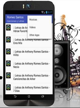 Romeo Santos Eres Mia Musicas تصوير الشاشة 2