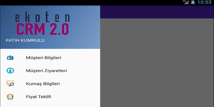 Ekoten CRM 2.0 poster