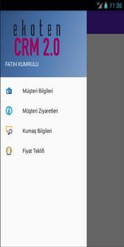 Ekoten CRM 2.0 apk screenshot