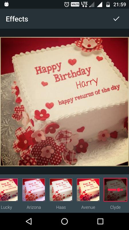 Birthday Cake Name Writer Apk