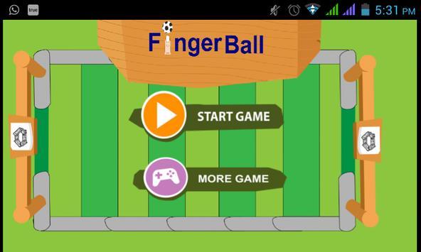 Finger Ball poster