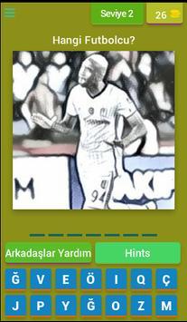 Hangi Beşiktaşlı Futbolcu ? apk screenshot