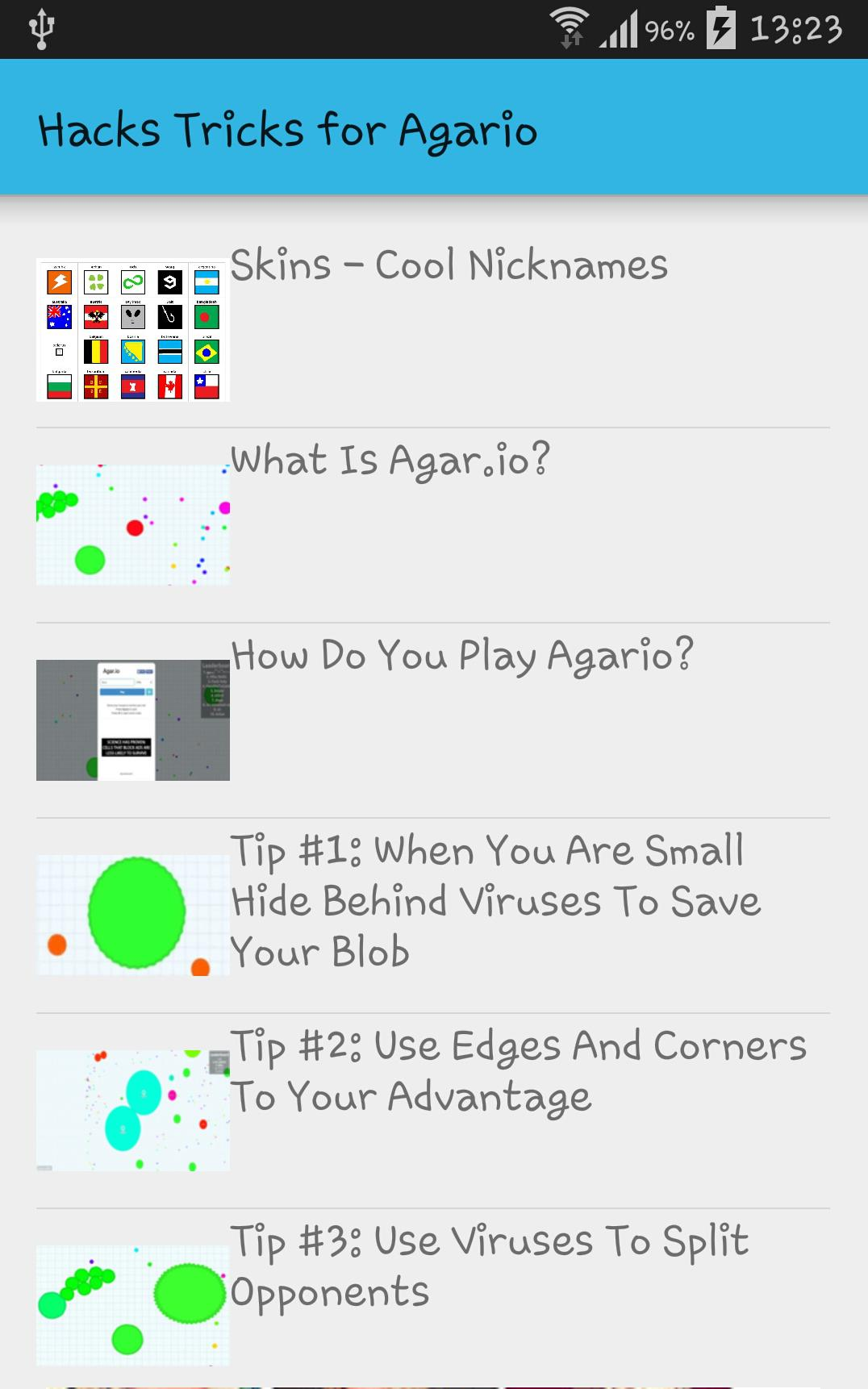 Hacks Tip and Trick for Agario for Android - APK Download