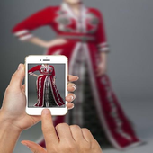 fashion girls arab icon