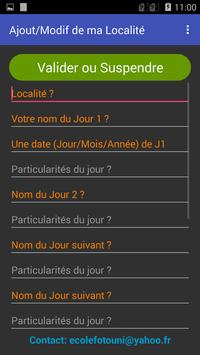Bamileke's Local Calendars apk screenshot