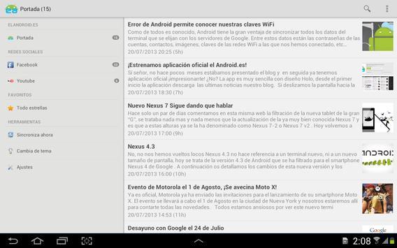 Noticias elandroid.es apk screenshot
