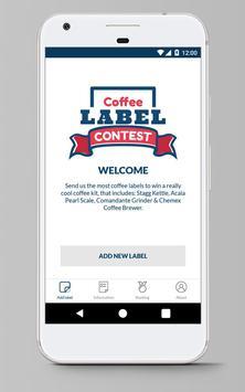 Coffunity Coffee Label Contest apk screenshot