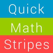Quick Color Math Stripes icon