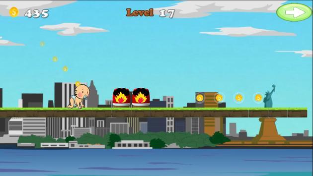 Runaway Baby Adventure screenshot 3