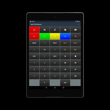 MAG 254/322 Remote screenshot 4