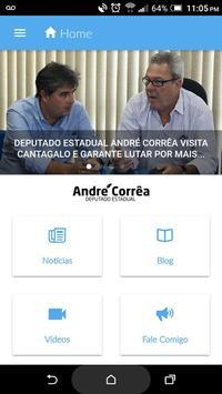 Deputado Estadual André Corrêa poster