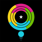 Crazy Color Switch Circle icon