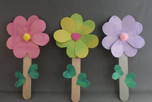 DIY Flower Crafts Ornament Tutorial poster
