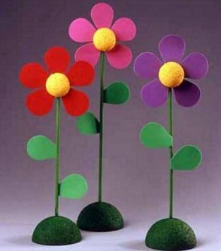 DIY Flower Crafts Ornament Tutorial apk screenshot