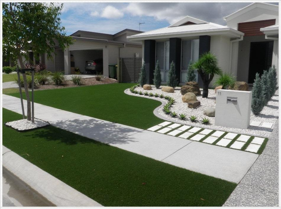 Minimalist Front Yard Design Idea for Android - APK Download on Minimalist Backyard Design id=53458