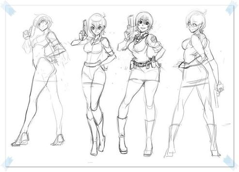 free anime drawings tutorial apk screenshot