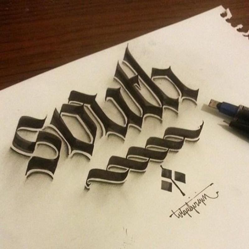 ... 3D Lettering Design screenshot 2 ...