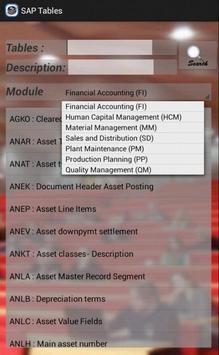 SAP Tables screenshot 2
