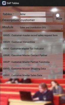 SAP Tables screenshot 4