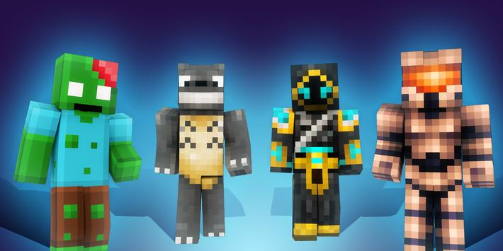Skins for Minecraft PE (Skinseed) poster