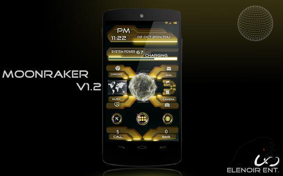 Moonraker UCCW Skin apk screenshot