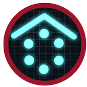 Smart Launcher Blue Gamer icon