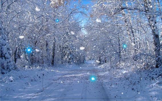 Winter Forest Live Wallpaper Apk Screenshot