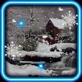 Winter House live wallpaper icon