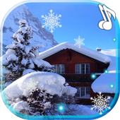 Winter House live wallpaper icon