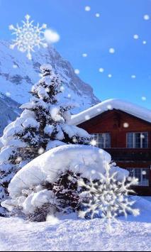 Winter House live wallpaper screenshot 2