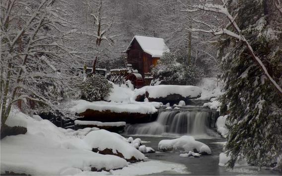 Winter House live wallpaper apk screenshot