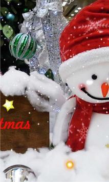 Snowman Cool live wallpaper poster