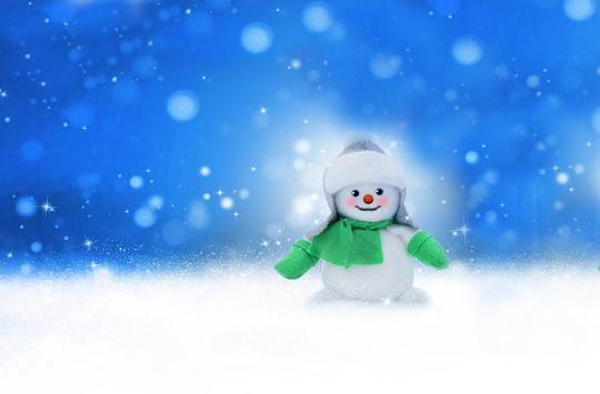 Snowman Cool live wallpaper apk screenshot