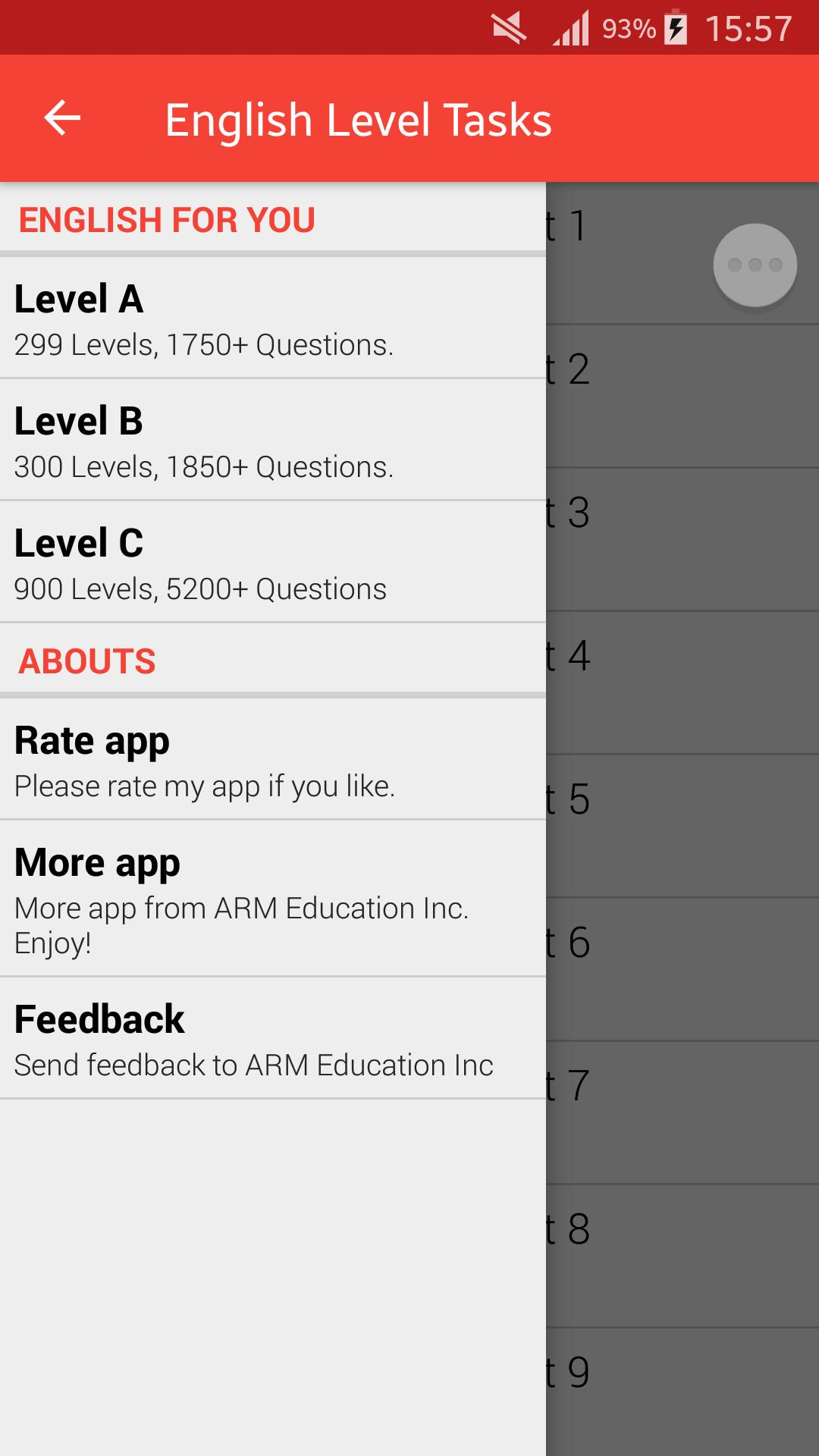English Level Test for Android - APK Download