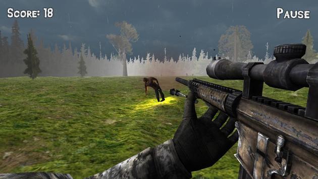 Sniper vs Zombies 3D poster