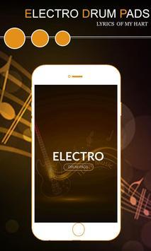 Elecro Drum pad - Create EDM Music poster
